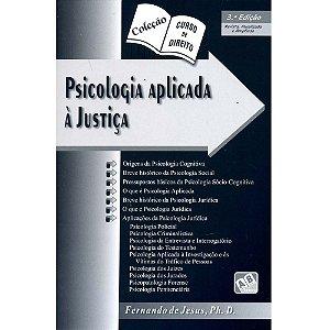 Curso de Direito - Psicologia Aplicada à Justiça - Fernando de Jesus