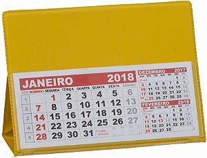 LG42 Calendário de Mesa 103x120mm Amarelo