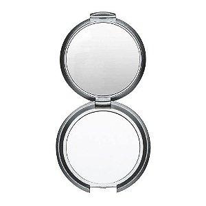 Espelho duplo  de bolso sem aumento