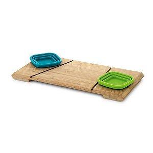 PAPRIKA Base de mesa com 2 potes