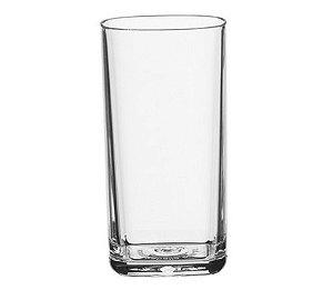 Copo Square 300ml - Kaballa Acrílico - Cristal