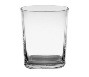 Copo Square 250ml - Kaballa Acrílico - Cristal