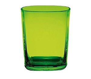 Copo Square 250ml - Kaballa Acrílico - Verde
