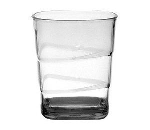 Copo Square Empilhável 250ml - Kaballa Acrílico - Cristal