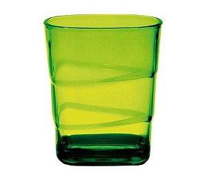 Copo Square Empilhável 250ml - Kaballa Acrílico - Verde