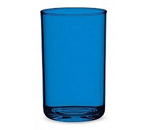 Copo Suco 500ml - Kaballa Acrílico - Azul Marinho