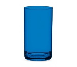 Copo Água 350ml - Kaballa Acrílico - Azul Marinho