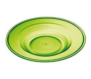 Prato Fundo 22cm - Kaballa Acrílico - Verde