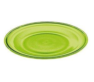 Prato Raso 26cm - Kaballa Acrílico - Verde