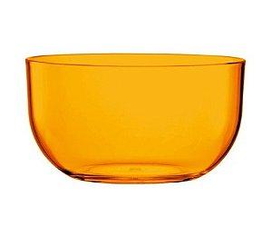 Tigela Bowl 1L - Kaballa Acrílico - Laranja