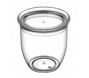 Pote Multiuso 300ml - Kaballa Acrílico - Cristal