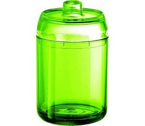 Porta Algodão - Kaballa Acrílico - Verde