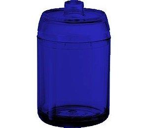 Porta Algodão - Kaballa Acrílico - Azul Marinho