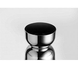 Tigela Bowl Metalizado 1L - Kaballa Acrílico - Prata