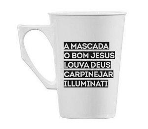 Caneca Illuminati 290ml - Kaballa Acrílico - Pretinho Básico