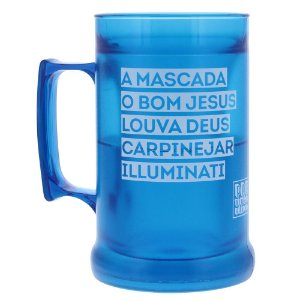 Caneca Térmica Pretinho Básico 300ml - Mascada Illuminati - Kaballa