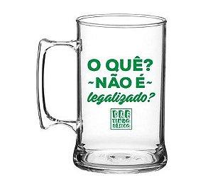 Caneca Pretinho Básico 450ml - Não é Legalizado? - Kaballa