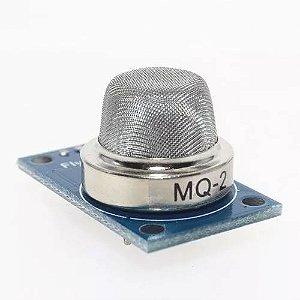 Sensor de Gás MQ-2 - Gás Inflamável e Fumaça Para Arduino