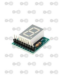 Módulo Display 7 Segmentos Anodo Comum - GBK Robotics