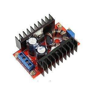 Módulo Regulador de Tensão Ajustável Step Up 10-32V P/ 12-35V 150W