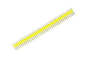 Barra de Pinos amarela 1x40 180 Graus