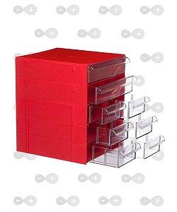 Conjunto de gaveteiro 5 módulos com 8 gavetas Cg 508