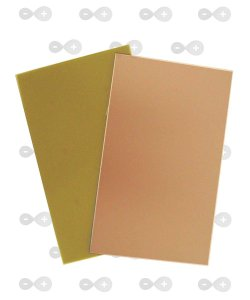 Placa de fenolite simples 5x10