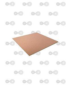 Placa de fenolite simples 15x25