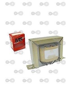 Transformador 0+6V 200mA