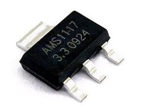 Circuito integrado LM 1117 SMD - 3,3V