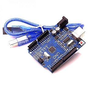 Placa Uno SMD + Cabo USB