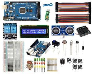 Kit Mega 2560 Automação Residencial - Ethernet / Wifi Compatível Com Arduino