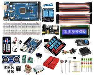 Kit Mega Master - Automação Residencial Iniciante Compatível Com Arduino