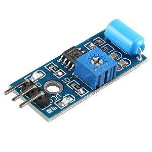 Módulo Sensor De Vibração Digital SW420 Para Arduino Pic Rasp