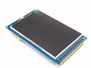 Shield Tela Lcd Tft 3.2 320x480 Para Arduino Mega Ou Due