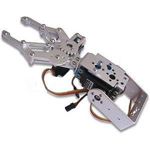 Kit Braço Róbótico 2 Articulações Com Servo Motor Mg995