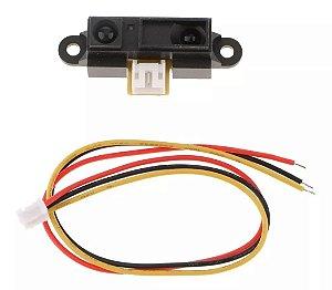 Sensor Infravermelho Sharp Gp2y0a21yk0f 10 - 80cm Para Arduino