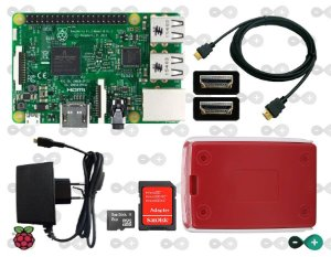 KIT RASPBERRY PI 3 INICIANTE