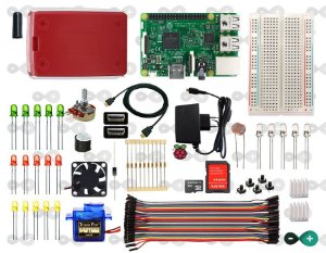 KIT RASPBERRY PI 3 INTERMEDIÁRIO