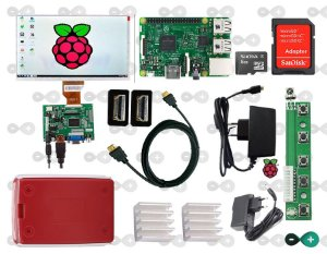 KIT RASPBERRY PI 3 COM TELA HDMI