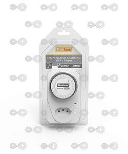 Temporizador Analógico 220v - Tm-ea220p - Enerbras