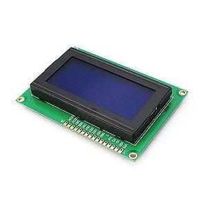 Display Lcd 16x4 1604 Fundo Azul Para Arduino