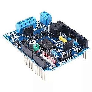 Shield Ponte H Dupla L298p 2a Motor Para Arduino
