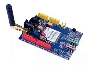 Shield Gsm / Gprs Sim900 + Antena Para Arduino