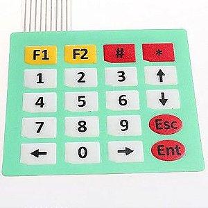 Teclado Matricial De Membrana 4x5 20 Teclas Para Arduino Pic