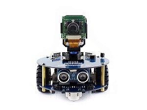 Alphabot2-pi Para Raspberry Pi + Câmera + Controle Remoto Ir