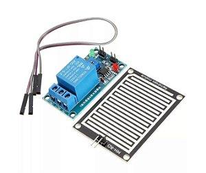 Sensor De Chuva E Umidade Com Acionamento De Relé