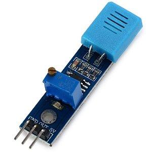 Hr202 Sensor De Umidade Detecção Lm393 Módulo