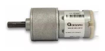 Micro Motor Cc Com Caixa De Redução 12v 44rpm 2,2kgf.cm