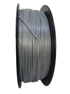 Filamento PLA 1,75mm Cinza 1kg para Impressora 3d